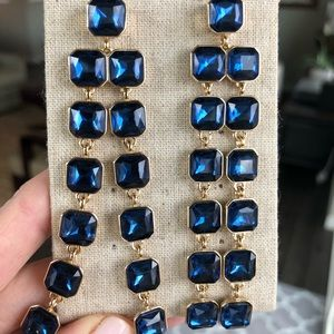 Gorgeous Blue Stone Earrings